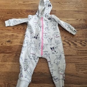 *** 4 for $25****Carters 12Mo Puppy Jogger Onesies